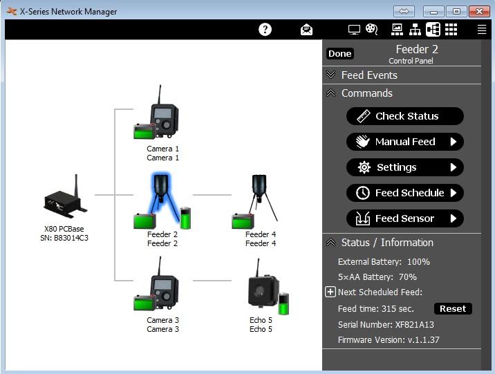 BuckEye Cam > Wireless Receivers > X80 PC Base Receiver